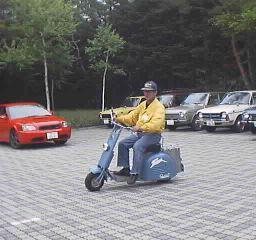 ラビットスクーター-プレアデスモーターテクノロジーサロンセミナー