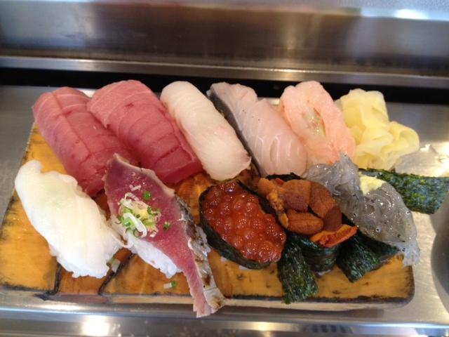 船橋市立ち食い寿司吉光