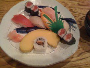 伊達巻付きにぎり寿司の並